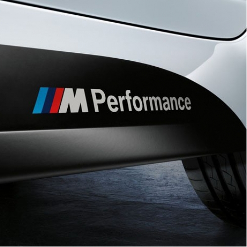 Bmw m performance car stickers decals x1 x3 x5 x6 3series 5 series 7 series