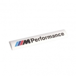BMW - M PERFORMANCE CAR DOOR STICKER(SILVER)