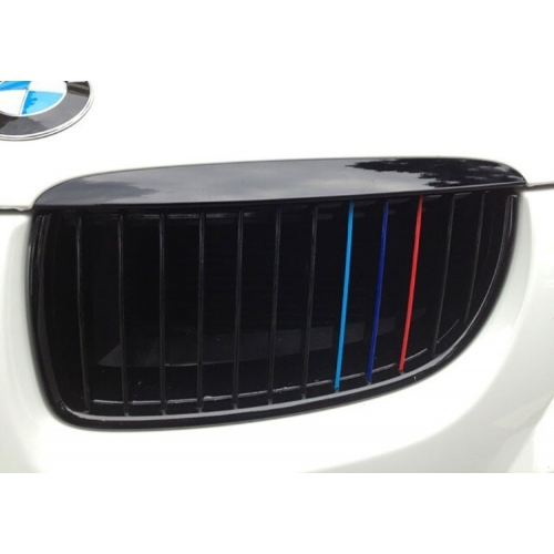 BMW M CAR STYLING PERSONALIZED GRILLE TUNING VINYL STICKERS V - Custom car decals nz   how to personalize