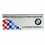 BMW - M STYLINGS 3D ALUMINUM LIMITED EDITION CAR LOGO STICKERS