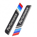 BMW - M PERFORMANCE CAR WINDOW DECORATIVE STICKER (BLACK)