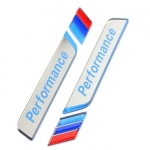 BMW - M PERFORMANCE CAR WINDOW DECORATIVE STICKER (WHITE)