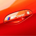 BMW - M POWER DECAL DOOR (WHITE)