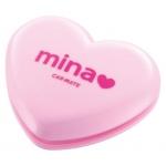 CARMATE - MINA LIGHT PINK HEART FRAGRANCE (ROSE)