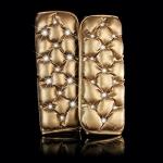 DAD GARSON - SEATBELT CRYSTAL PADS GOLD
