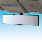 NAPOLEX - BROADWAY AIR 300MM FLAT NEW DESIGN BLACK REAR VIEW MIRROR